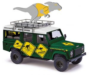 BUSCH Land Rover Defender, Roadsign 50369