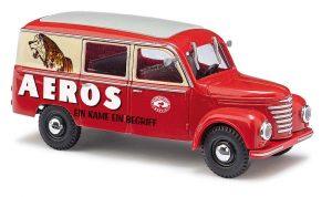 BUSCH Framo V901/2 Halbbus, Zirkus Aeros 51278