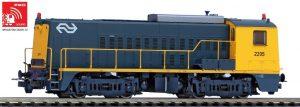 PIKO #55902 Sound Diesellok Rh2200 NS IV gelb-grau