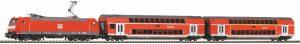 PIKO 59023 Start-Set Personenzug BR146 mit 2 Dostowagen DB