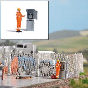 BUSCH 8856 Action Set: Signalfernsprecher für Spur TT
