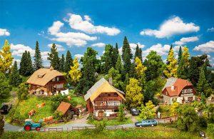 FALLER 190071 Aktions-Set Schwarzwalddorf in Spur Ho