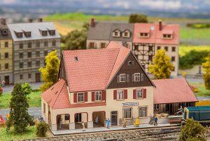 FALLER 282708 Bahnhof Durlesbach in Spur Z