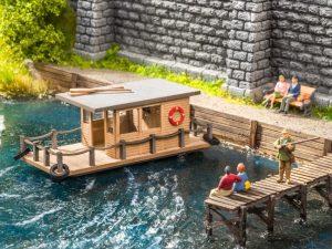 NOCH 14224 Hausboot für Spur H0