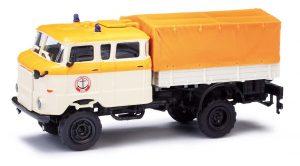BUSCH 95245 IFA W50LA Pritsche auf TLF (Tanklöschfahrzeug) Fahrgestell, Seenotrettung