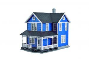 Das neue H0-Schwedenhaus von Kibri