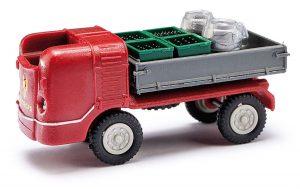 BUSCH 210006501 Multicar M21 »Mitropa« mit Beladung