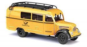BUSCH 51865 Robur Garant K 30 Kombiwagen, Deutsche Post