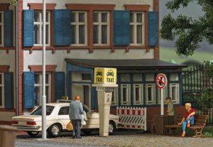 BUSCH 7763 Mini-Set Taxisäule BRD
