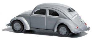 BUSCH 42753 VW Käfer mit Brezelfenster, französische Militärregierung