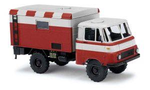 BUSCH 51655 Robur LO 1801 A Koffer, Flugfeldwagen