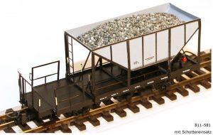Ferro Train | Leopold Halling | Stängl – Dreiachsige Schmalspur Schotterwagen (Neuheiten)
