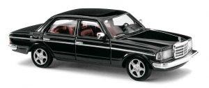 BUSCH Mercedes W123 Limousine »Black Edition« 46872