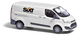 BUSCH 52419 Ford Transit Custom, Autovermietung Sixt