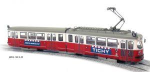 FERRO-TRAIN/Leopold Halling – Triebwagen E1 Wien – Das mobile Wahrzeichen