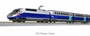 KATO/LEMKE – TGV Réseau Duplex der SNCF und TGV Thalys PBA (Spur N)