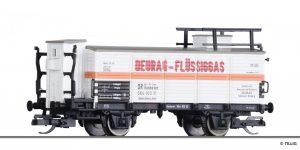 "TILLIG - Art.-Nr.: 502206 Flüssiggaswagen ""DEURAG"" der DR Bit-US-Zone, Ep. III"