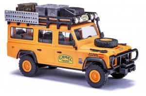 BUSCH 50378 Land Rover Defender, Camel Trophy 1989, Spanien