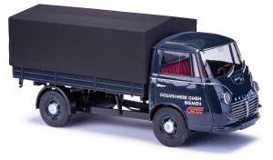 BUSCH 94221 Goliath Express 1100 Pritschenwagen »Edition Goliath Werk« mit Plane (Limitierung 500 Stk.