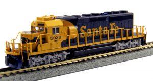 KATO-LEMKE K1768209 Diesellok EMD SD40-2 AT&SF Ep.V