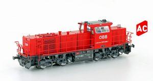 Jägerndorfer/Lemke – Verschublok Rh 2070 der ÖBB – Neuheiten Auslieferung (Ho)