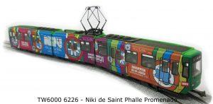 FERRO-TRAIN/Leopold Halling/Stängl – Niki de Saint Phalle Promenade – Niki-Tram Hannover