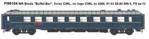 Pirata/LEMKE – Speisewagen WR Breda der CIWL Ep. IV aktuell in der Auslieferung