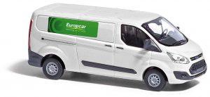 BUSCH 52418 Ford Transit Custom, Autovermietung Europcar