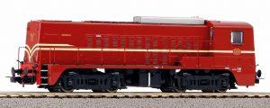 PIKO #52692 Diesellok Rh2200 NS III rotbraun