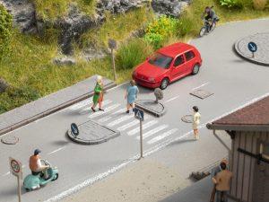 NOCH Straßen-Deko-Set (Art.-Nr. 60525