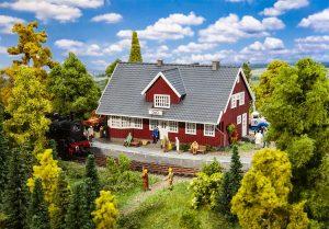 FALLER 110160 Schwedischer Bahnhof für Spur H0