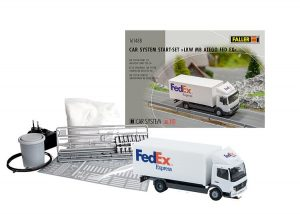 FALLER 161488 Car System Start-Set LKW MB Atego FedEx für Spur H0