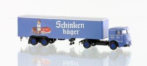 MINIS LC3622 Büssing LU11-16 Sattelzug Schinkenhäger für Spur N