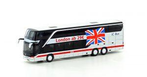 MINIS/LEMKE – Neue Varianten des Setra S431 DT Reisebus und Liebherr Zweiwege Bagger A922