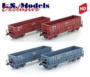 L.S.Models/LEMKE Spur H0 Erzwagen SNCB-SNCF