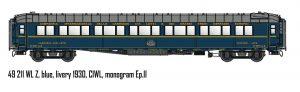 L.S.Models/LEMKE Schlafwagen WL Z – CIWL, Ep.II (1930)