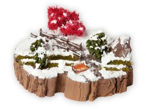 """NOCH 10003 Diorama Kit """"Winter Dream"""" für Spur H0"""