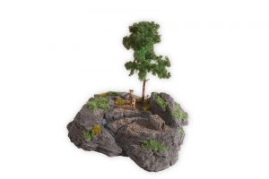 """NOCH 10012 Diorama Kit """"Rocky Mountain"""" für Spur H0"""