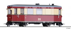 TILLIG Art.-Nr.: 02945 Triebwagen 187 001-3, Hilfsgerätewagen, der DR, Ep. IV
