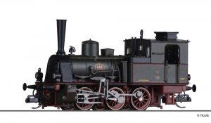 TILLIG Art.-Nr.: 04246 Dampflokomotive T3 der M.F.F.E., Ep. I