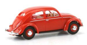 BUSCH 52901 VW Käfer mit Brezelfenster, Rot FORMNEUHEIT