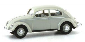 BUSCH 52951 VW Käfer mit Ovalfenster, Grau FORMNEUHEIT