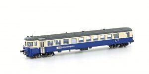 HOBBYTRAIN/LEMKE Neuheiten für Spur N – Autoverladezug-Steuerwagen BDt der BLS
