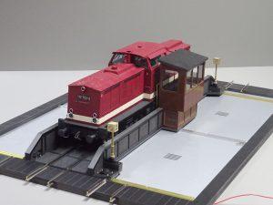 Modellbau Heyn – Neue Schiebebühne im Maßstab 1:22,5