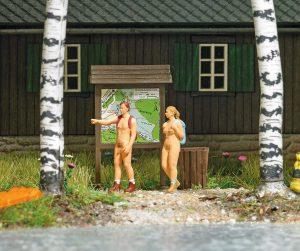 BUSCH H0 7947 Nacktwanderer