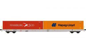 Containerwagen Sggnss'80 Boxxpress, Ep.VI