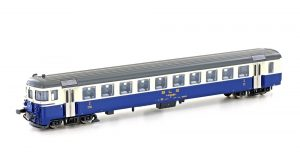 Pendelzug-Steuerwagen Bt BLS, Ep.IV, creme/blau