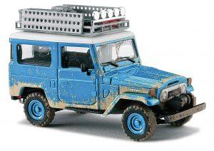 BUSCH 43023 Toyota Land Cruiser J4, Offroad, Blau