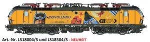 L.S.Models/LEMKE – Neue Varianten der Baureihe 193 Vectron MS und 192 Smartron