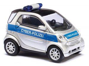BUSCH 46149 Smart Fortwo Facelift, Cyber-Polizei
